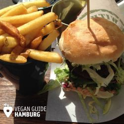 Vegan Guide Hamburg on Tour: wir waren in Göteborg im Urlaub. Burger essen bei Göteburgare Vegan